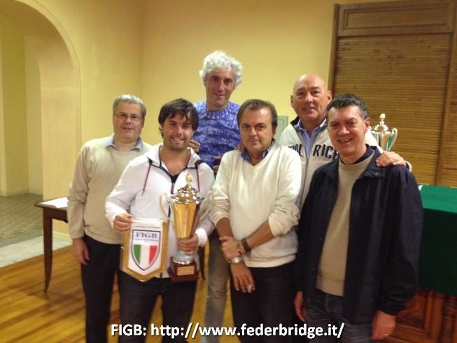 Equipo Allegra: ASTORE GIANCARLO; BOCCHI NORBERTO; CERRETO RODOLFO; DUBOIN GIORGIO; FERRARO GUIDO; MADALA AGUSTIN; SEMENTA ANTONIO