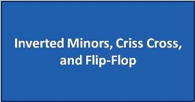 Inverted Minors, Criss Cross, and Flip-Flop
