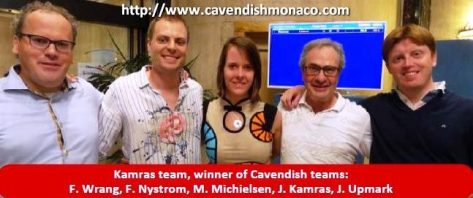 Monaco Cavendish: Kamras team