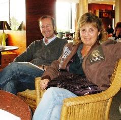 Juan Carlos Ventin y Nuria Almirall