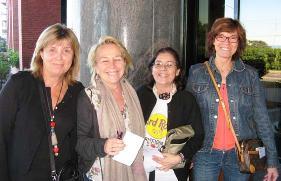 Nuria Almirall, Carmen Cafranga, MaCarmen Babot y Marta Almirall