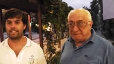 Agustin Madala y Ernesto d'Orsi