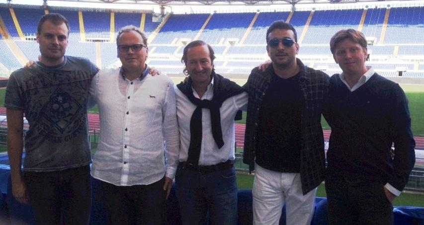 Equipo Ventin Roma 2013