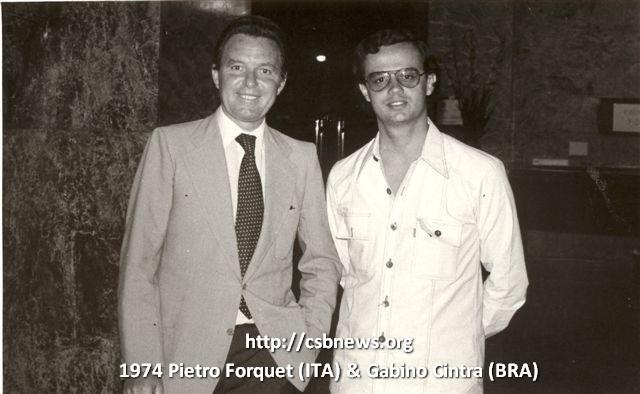 1974 Pietro Forquet (Italia) y Gabino Cintra (Brasil)