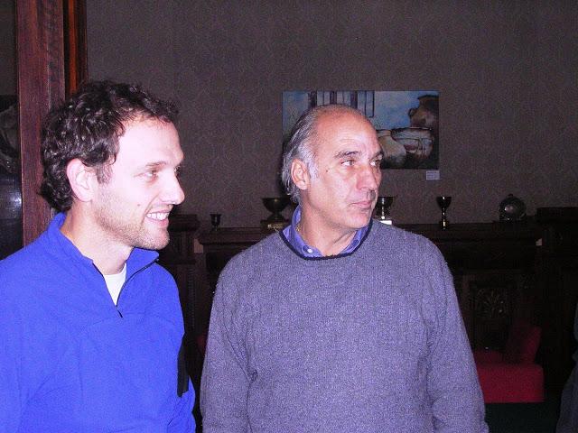 Alejandro Bianchedi y Ernesto Muzzio