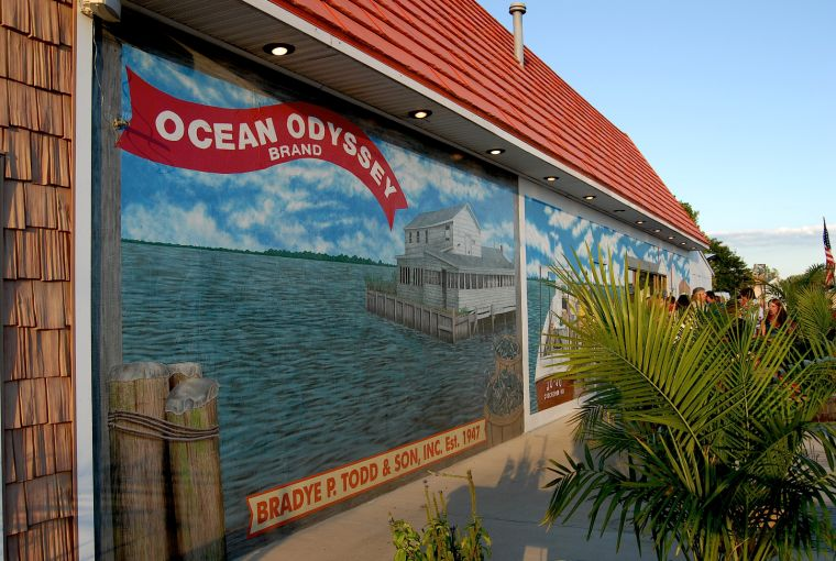 Ocean Odyssey Opens Crab and Beer Garden