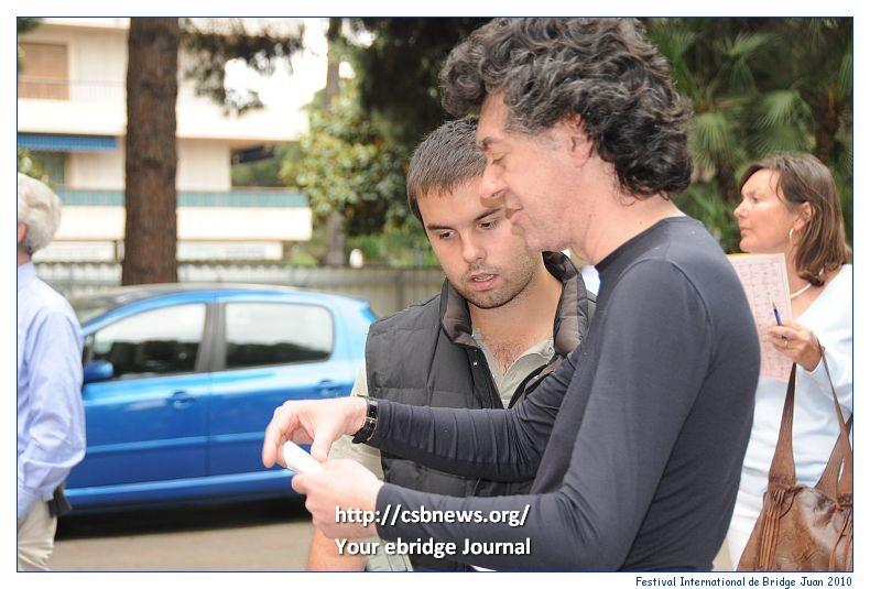 Agustin Madala y Giorgio Duboin