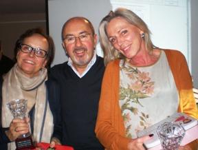 Campeonas Serie B Amalia Lumb y Maria Alvaro