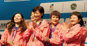 China, Ladies Gold winners
