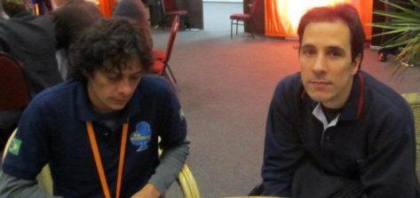 Diego Brenner y Carlos Pellegrini