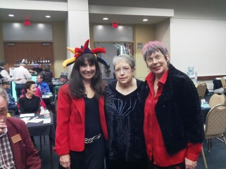 Karen Lee Barrett, Anne Dawson and Donna Wood