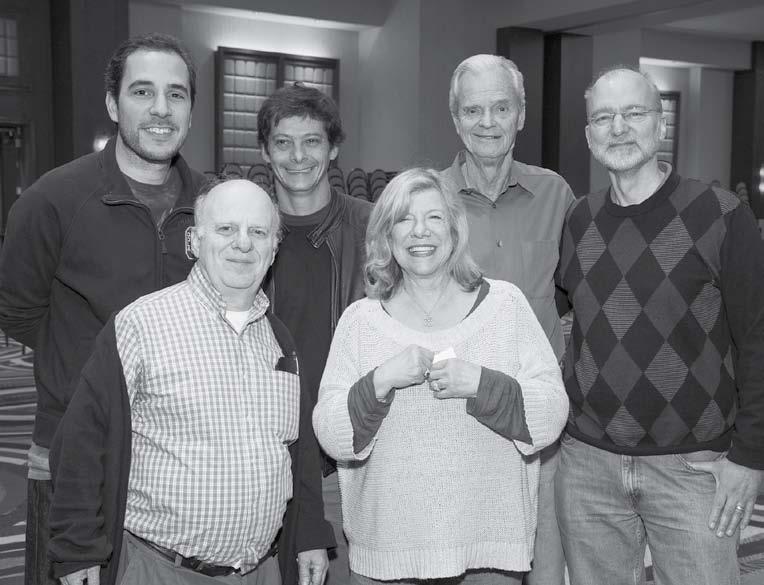 North American Swiss Team 2013 winners: Steve Robinson , Rose Meltzer. Carlos Pellegrini, Diego Brenner, John Mohan y Peter Boyd.