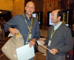 Dragan Markovic y Juan Carlos Ventin
