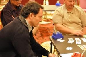 A. Bianchedi jugando la Spingold 2011