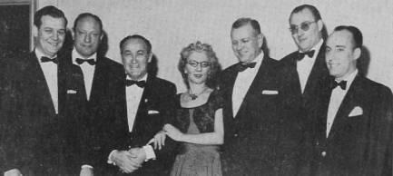 Billy Seamon, Harold Ogust, Charles Goren, Helen Sobel, Rufus Miles, Jr, Peter A. Leventritt, Boris Koytchou.