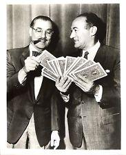 Groucho Marx y Charles Goren