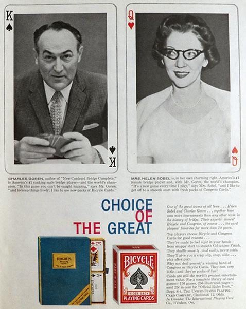 Helen Sobel and Charles Goren
