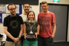 Runners up of 2014 Youth Team AND Winners of the Youth BAM Teams James Coutts, Matthew Smith, Andi Boughey, Liam Milne
