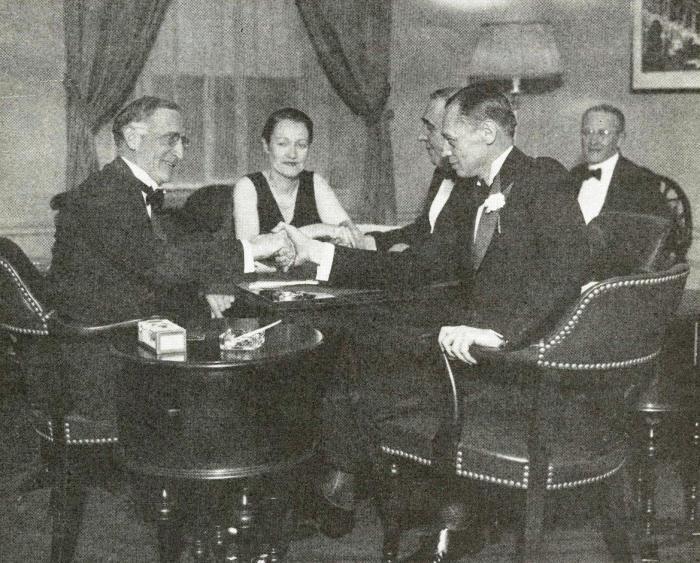 Battle of the Century: Culbertson-Lenz match