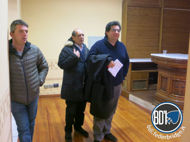 Antonio Sementa, Lorenzo Lauria, Alfredo Versace