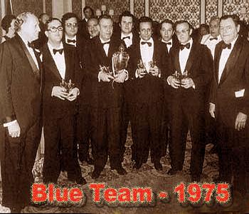 Blue team 1975
