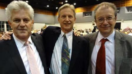 David Stern, Barry Rigal y Brent Manley