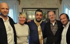 Dragan Markovich, Sabine Auken, Mustafa tokay, Roy Welland y Juan Carlos Ventin