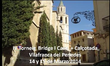 IV Torneo bridge y Cava
