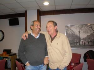 Juan Pont y Javier Graupera
