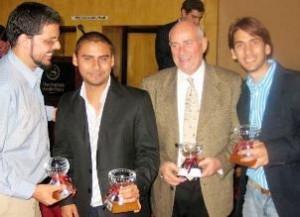 Hanoi Rondon, Eric Milano y Eduardo Rosen