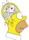 Bridge Cartoon: homero cerebro