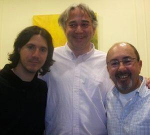 Joan Priu Xavi Goberna y Angel Cobas