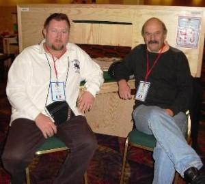 Luc Soudan y Charles Garmier