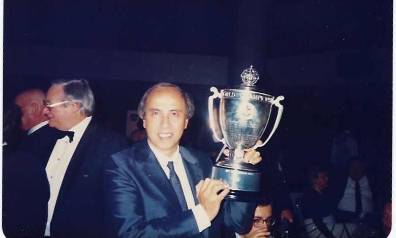 Pedro Branco, 1989 World Champion