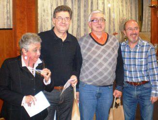 Ramon Ojeda y Lluis Lanza, ganadores del IV Torneo Bridge y Cava