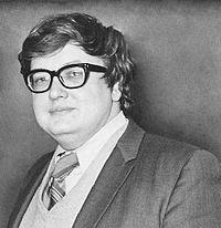Roger Ebert in 1970.