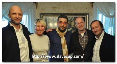 Ventin equipo Slava Cup