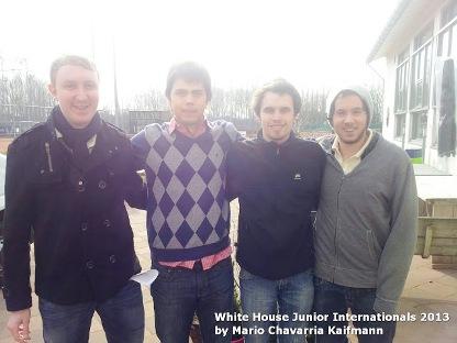 Argentina: Maximo Crusizio/Rodrigo Garcia da Rosa, Kristoffer Hege-Kristian, Stangeland (Noruega), substituto: Bob Drijver