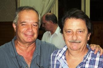 Gustavo Alujas y Julio Alfonsin