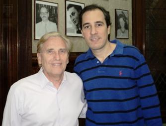 Hector Camberos y Carlos Pellegrini