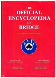 Official Encyclopedia of Bridge