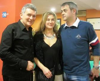 Toni Lencina - Sonia Hertel y Ramon Malla