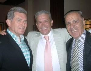 Toni Lencina, Jose Gonzalez y Domingo Navarro