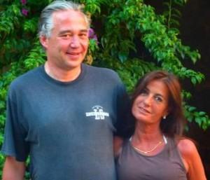 Xavi Goberna y Magda Torras