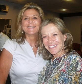 Mª José Calbeto y Gabriela Font