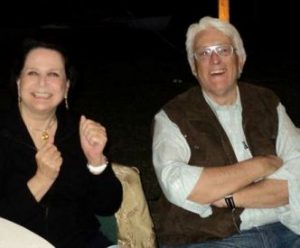 Morella Pacheco y Franco Gusso