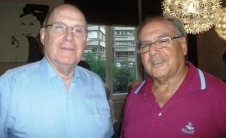Sidney Azaguri y Elias Chokron