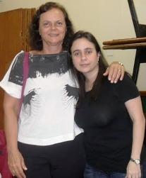 Sylvia Mello y Paula David