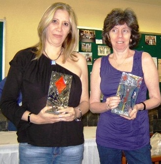 Alisa Douer y Vivianne Lechtman