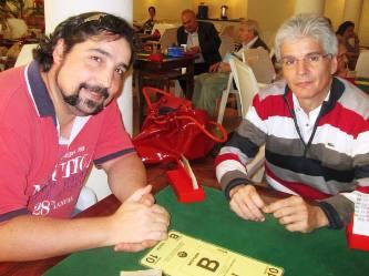 Nelson Moran y Antonio Hernandez